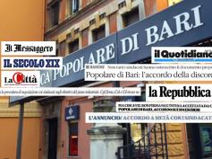 Accordo Popolare Bari, il no di First Cisl sulla stampa