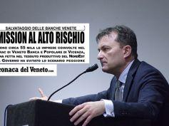 Banche venete, First Cisl sulla Cronaca del Veneto
