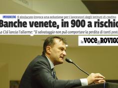 La Voce di Rovigo, First Cisl, salvataggio non può comportare perdita di lavoro