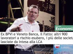 Banche venete, VicenzaPiù rilancia l'allarme di First Cisl