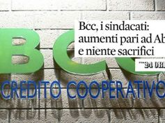 Il Sole 24 Ore sulla trattativa Federcasse, la posizione di First Cisl