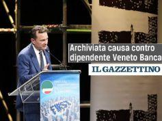 Il Gazzettino, archiviata causa contro dipendente Veneto Banca per vendita bond