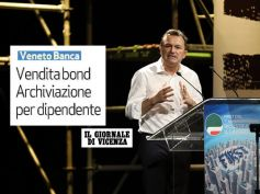 Archiviata causa contro dipendente Veneto Banca, Il Giornale di Vicenza