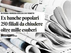 First Cisl sul Messaggero Veneto, ex popolari, portare il lavoro sul territorio