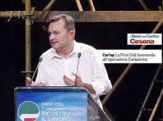 Il Resto del Carlino, First Cisl favorevole all'operazione Cariparma