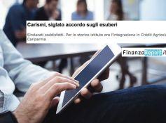 Accordo Carismi pre integrazione in Cariparma, First Cisl su FinanzaReport
