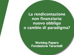"""On line il working paper sulla """"rendicontazione non finanziaria"""""""