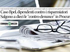 Corriere di Arezzo, le controdenunce di dipendenti Bpel assistiti da First Cisl