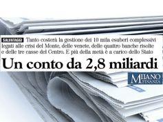 Milano Finanza, Romani e Colombani sul costo sociale delle crisi bancarie
