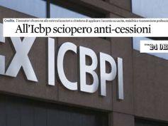 Sciopero in Icbpi, First Cisl su Il Sole 24 Ore