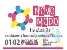 Cambiare la finanza per cambiare l'Europa, First Cisl al festival Novo Modo