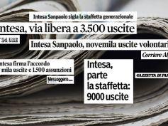 Accordo Intesa, First Cisl sulla stampa, favorita la staffetta generazionale