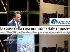 Giulio Romani su Avvenire, le cause della crisi non sono state rimosse