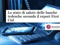Formiche.net, crediti e npl delle banche tedesche secondo il report First Cisl