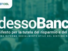 Adesso Banca! da Cisl e First Cisl 6 riforme per tutelare risparmio e lavoro