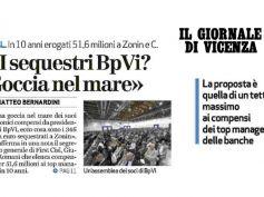 Giornale di Vicenza, First Cisl, vincolare compensi manager a reddito sociale