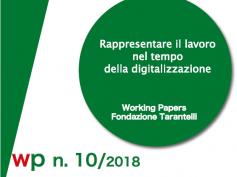 Rappresentare il lavoro nell'era della digitalizzazione, un Working Paper