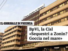 Il Giornale di Vicenza, sequestro a Zonin goccia nel mare