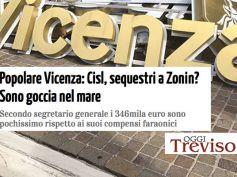 Oggi Treviso, sequestro disposto da Tribunale Vicenza è goccia nel mare