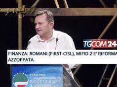 Mifid 2 è una riforma azzoppata, la posizione di First Cisl su TgCom24