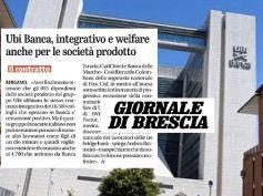 Giornale di Brescia, bene accordo che estende integrativo Ubi, ora le good bank