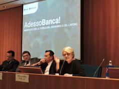 AdessoBanca!, Annamaria Furlan, il video della presentazione del manifesto
