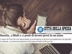 AdessoBanca!, le proposte di First Cisl sul web magazine Città della Spezia