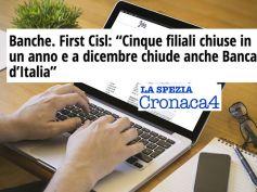 AdessoBanca!, La Spezia, il rapporto First Cisl e la chiusura di Banca d'Italia