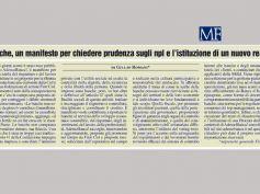 AdessoBanca!, Giulio Romani firma un intervento su Mf