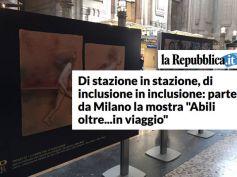 La Repubblica, parte Abili Oltre… in Viaggio, 12 opere testimoni della vita