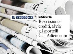 AdessoBanca!, Il Secolo XIX, sportelli First Cisl-Adiconsum contro vessazioni