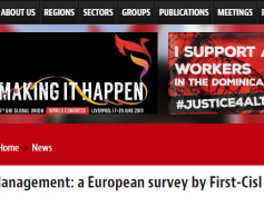 Work life management, Uni Global Union rilancia sondaggio First Cisl