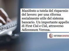 AdessoBanca!, Veronaeconomia scrive dell'adesione di Adiconsum
