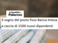La Repubblica,1.500 assunzioni, First Cisl Sicilia, Intesa non trascuri il sud