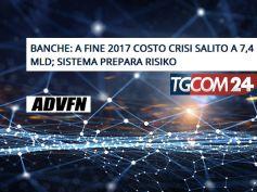 Su Tgcom24 e Advfn lo studio First Cisl sui costi della crisi nelle banche