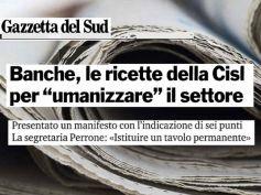 AdessoBanca!, La Gazzetta del Sud, in Calabria per umanizzare le banche