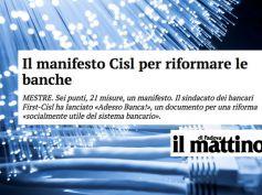 AdessoBanca!, il manifesto per la tutela del risparmio sul Mattino di Padova