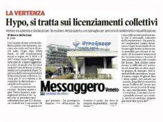 Messaggero Veneto, First Cisl sulla vertenza Hypo Alpe Adria Bank