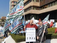 Il Tg Rai del Veneto sul presidio dei 700 lavoratori ex venete a Vicenza