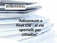 AdessoBanca!, Quotidiano di Sicilia, pronti gli sportelli di ascolto