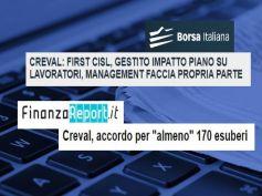 First Cisl, gestito impatto sui lavoratori del piano di ristrutturazione Creval