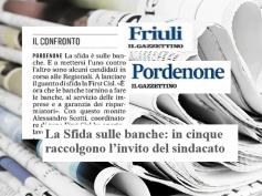 AdessoBanca! a Pordenone, confronto fra First Cisl e i candidati alle regionali