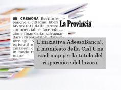 AdessoBanca! a Cremona, banche e sociale un rapporto da recuperare