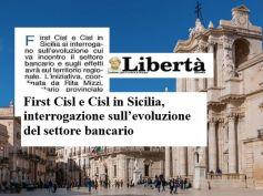 La Libertà, Cisl e First Cisl a Siracusa, un convegno su banche e territorio
