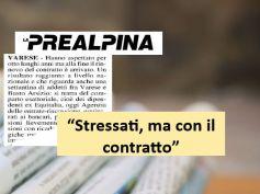 La Prealpina, Riscossione, First Cisl, 8 anni per il nuovo contratto
