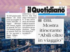 La mostra di Abili Oltre a Reggio Calabria, 12 grandi opere per stupire