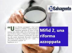 Il Salvagente, Mifid 2, per First Cisl serve un questionario unico