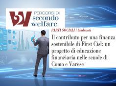 First Cisl nelle scuole di Varese e Como per favorire l'educazione finanziaria
