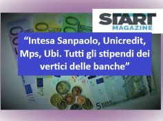 Start Magazine, banche, studio First Cisl su stipendi top manager italiani