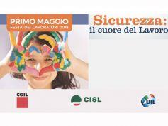 Primo maggio, a Prato quest'anno la Festa dei Lavoratori con Cgil, Cisl e Uil